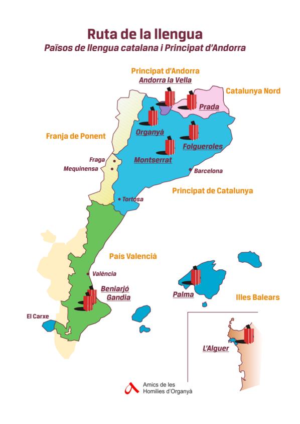 Mapa Organyà