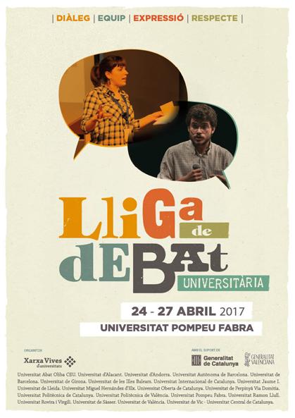 Lliga Debat Universitari 2017 Xarxa Vives