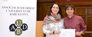 L'equip Fuetenses guanya la fase prèvia de la Lliga de Debat Universitària a la UB