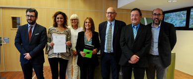 La Universitat d'Andorra acull el lliurament de la modalitat de Dret i Economia del premi Cum Laude