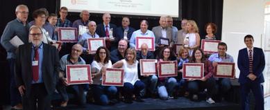 La Xarxa Vives, guardonada a la 10a Convenció de la Premsa Comarcal i Local