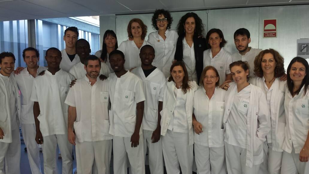 Alumnes de Gàmbia viatgen a la Universitat de Lleida per realitzar pràctiques de Fisioteràpia