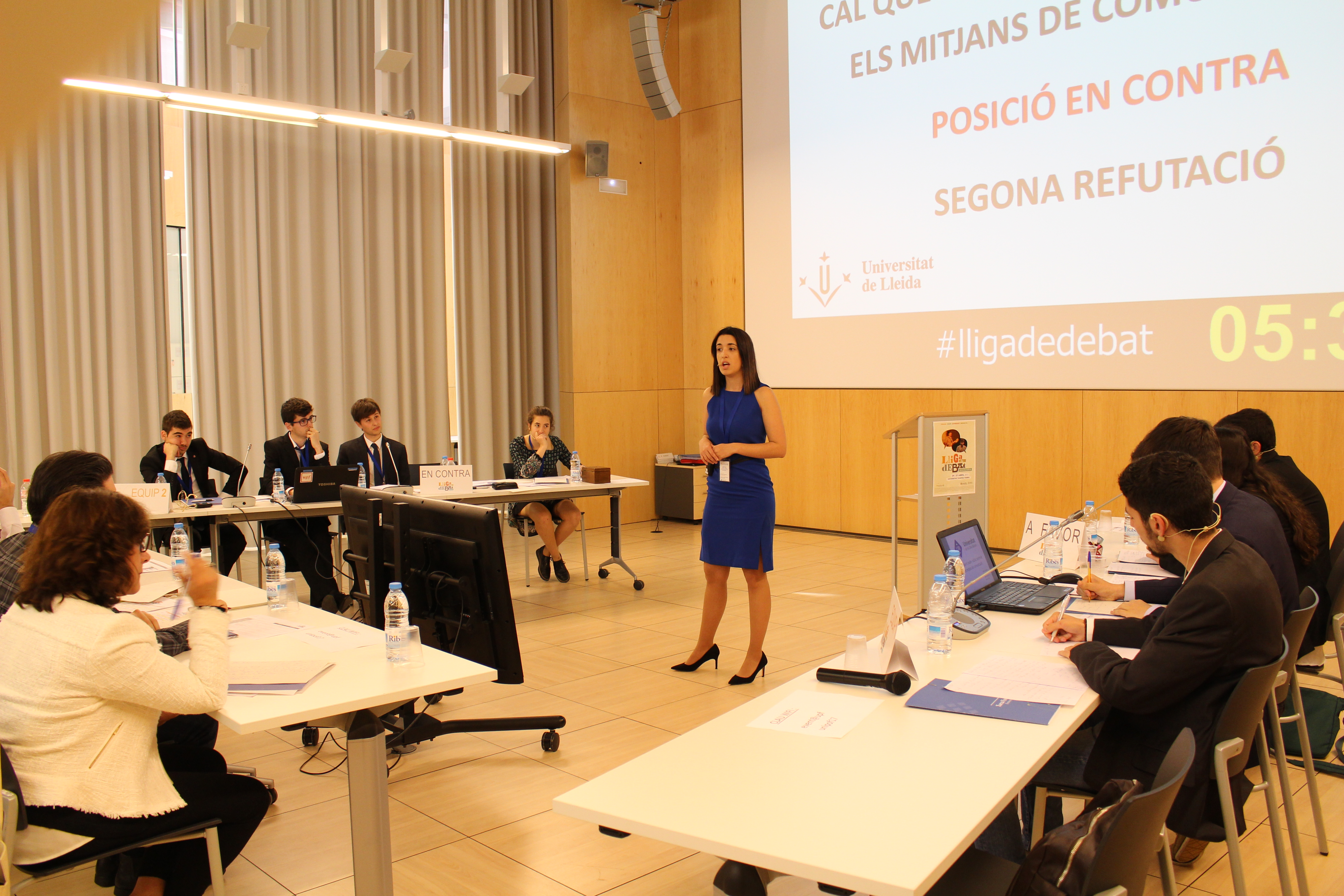 Un total de 16 universitats participaran en la Lliga de Debat Universitària de la Xarxa Vives