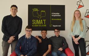 L'equip de l'INS Can Roca (Terrassa) guanya la fase local de la Lliga de Debat de Secundària i Batxillerat de la Xarxa Vives a la Universitat Autònoma de Barcelona