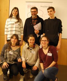 L'equip de l'Escola Ginebró (Llinars del Vallès) venç a la fase local de la Lliga de Debat de Secundària i Batxillerat de la Xarxa Vives, a la Universitat Pompeu Fabra