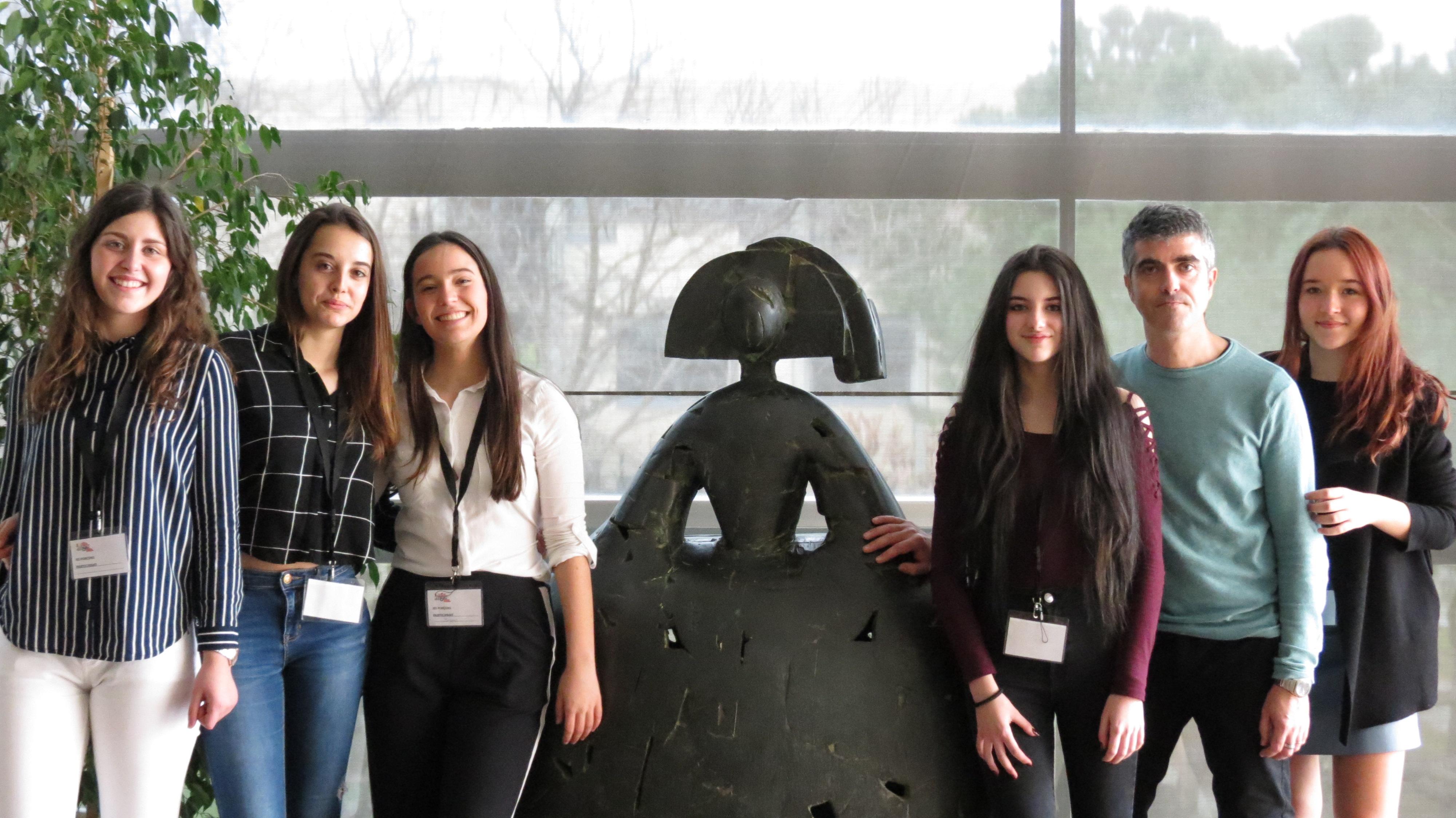 L'equip de l'IES Porçons (Aielo de Malferit) guanya la fase local de la Lliga de Debat de Secundària i Batxillerat de la Xarxa Vives a la Universitat Politècnica de València.