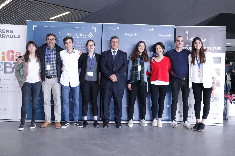 L'Escola Ginebró de Llinars del Vallès, guanyadora per la Universitat Pompeu Fabra de la Lliga de Debat de Secundària i Batxillerat