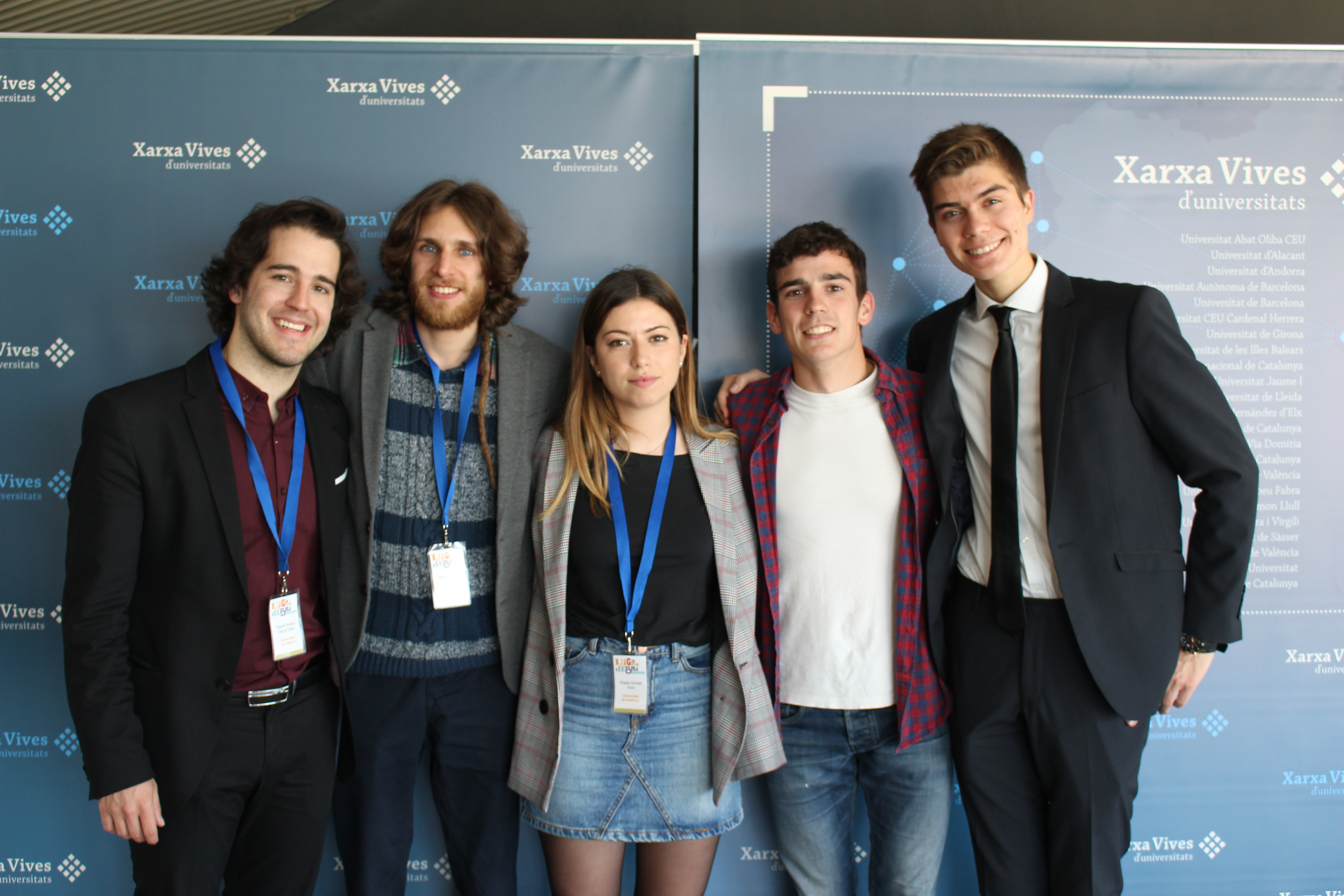 5.000 participants fan de la Lliga de Debat de la Xarxa Vives la competició d'oratòria més important del sud d'Europa
