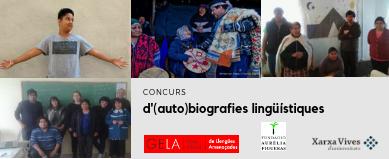 James Costa, guanyador de la V edició del Concurs Internacional d'(Auto)biografies lingüístiques