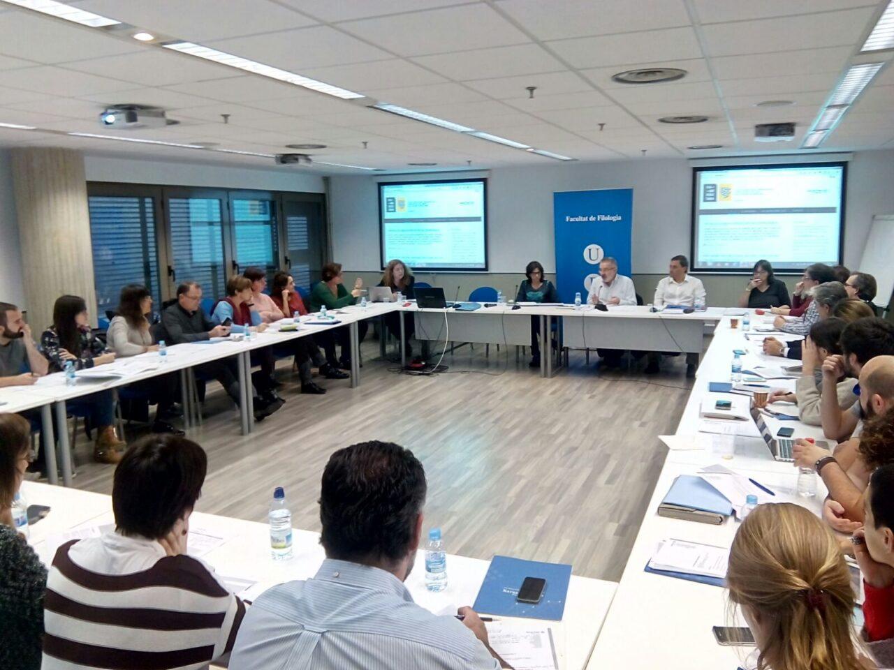 Via Universitària reunió del 24 de novembr a la Universitat de Barcelona