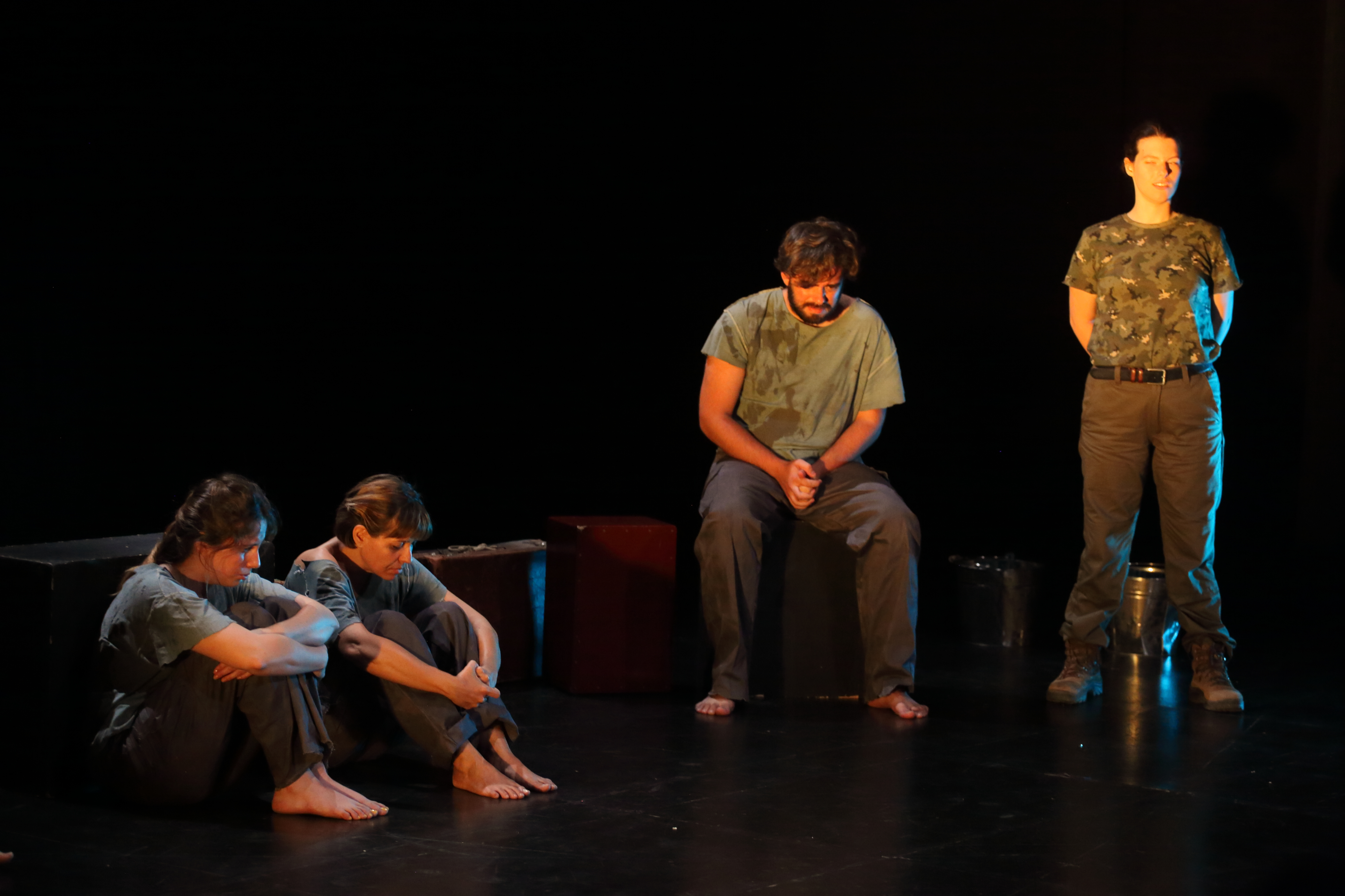 Una mirada, un pensament. Grup de Teatre de la Universitat Miguel Hernández d'Elx