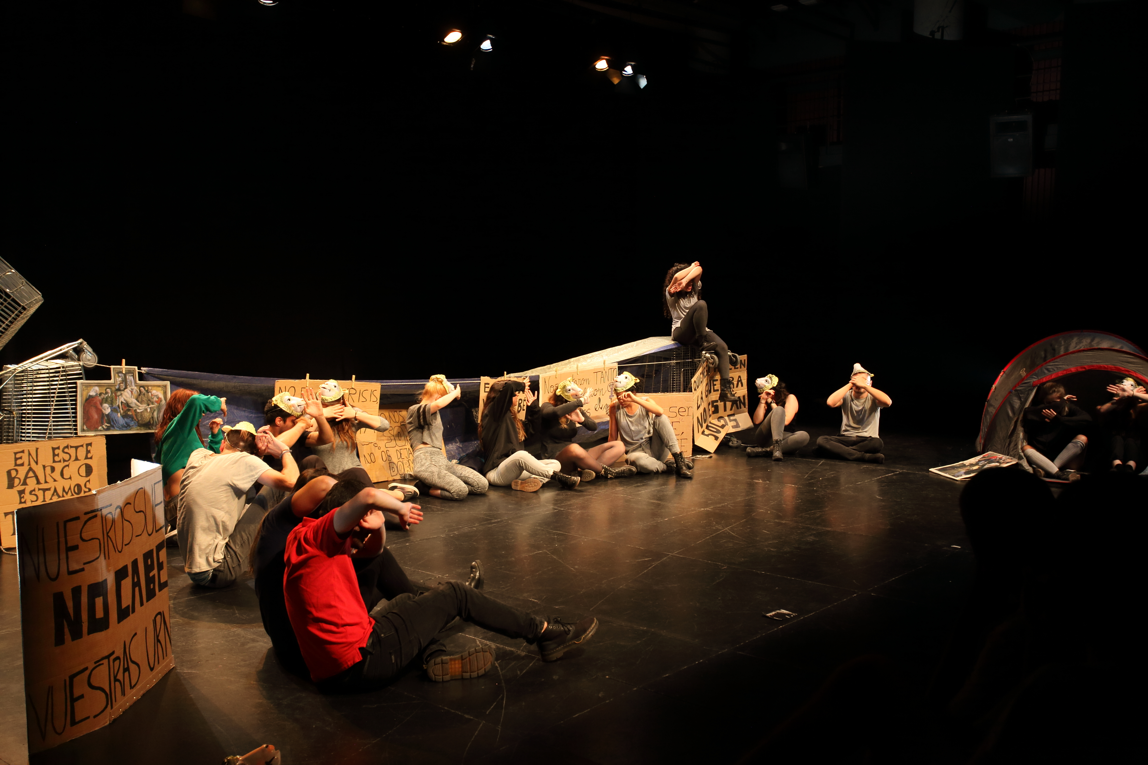 En Defensa. Un concierto de despedida. Aula de Teatre de la Universitat d'Alacant