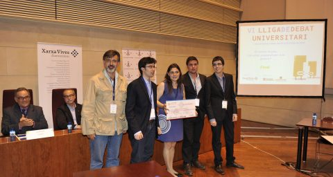 Equip UdL-Subcampió-Lliga-Debat-Universitària-2010