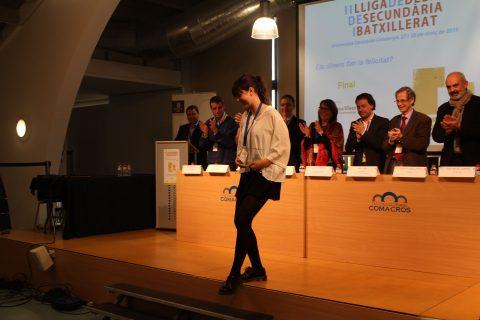 Millor-oradora-Lliga-Debat-Secundària-Batxillerat2015