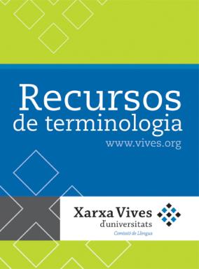 Book Cover: Recursos de terminologia