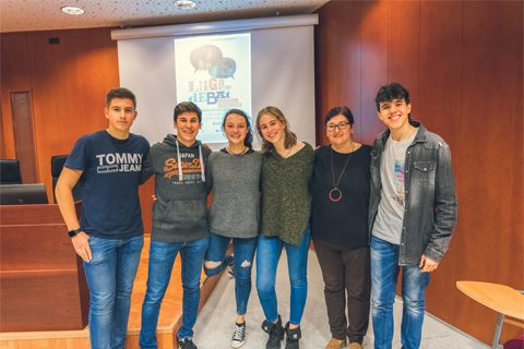 Col·legi Jesuites Lleida-Col·legi Claver. Fase local UdL