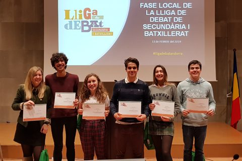 Escola Andorrana Batxillerat. Fase local UdA