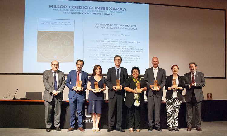 Premis Joan Lluís Vives a l'edició universitària 2019