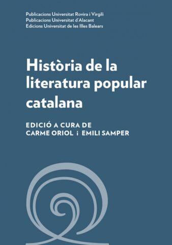 Llibre Història de la literatura popular catalana