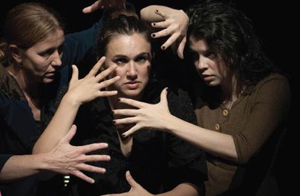 Espectacle teatral «Llum trencada». Històries de dones, guerra i República_UIB