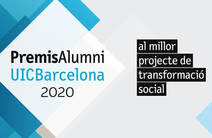 Premis Alumni UIC al millor projecte de transformació social