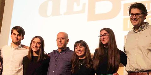 Equip campió de la fase local de la Universitat d'Alacant