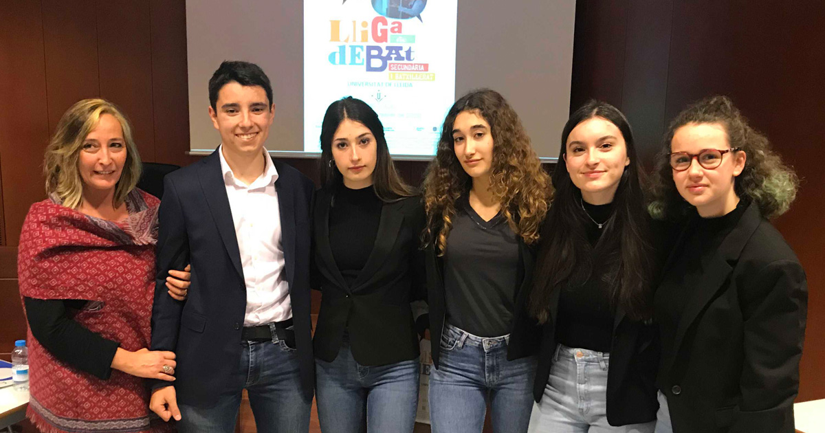 Equip campió de la fase local de la Universitat de Lleida