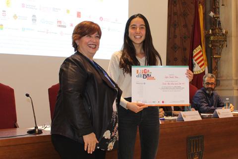 Sofia Gassiot. Millor oradora de la Lliga de Debat de Secundària i Batxillerat 2019