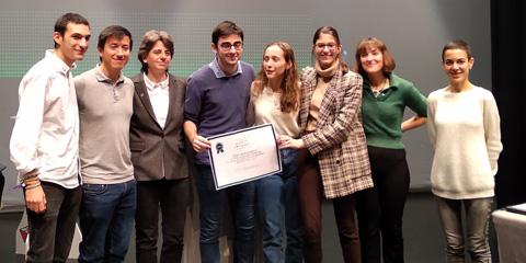 CIC Batxillerat. Equip campió fase local de la Universitat Autònoma de Barcelona