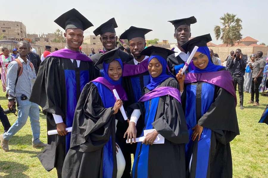 Graduats Fisiàfrica Gàmbia