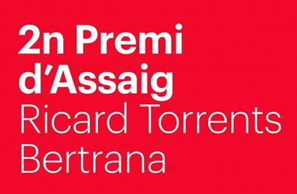 Premi d'Assaig Ricard Torrents Bertrana. UVic-UCC